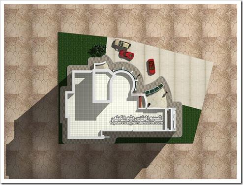 تصاميم هندسيه لفيلا بالماكس-المهندس بشير الكينعي (7)