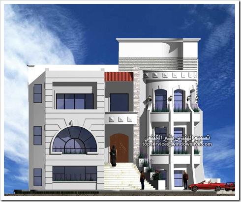 تصاميم هندسيه لفيلا بالماكس-المهندس بشير الكينعي (8)